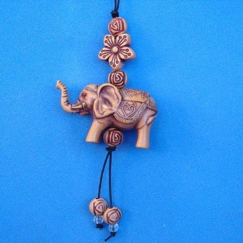 Small Elephant Charm as Cell Phone Charm