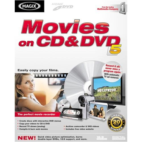 Movies on CD & DVD 5