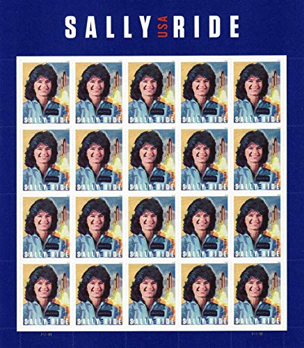 Sally Ride 1st Women in Space Sheet of Twenty Forever Stamps Scott 5283