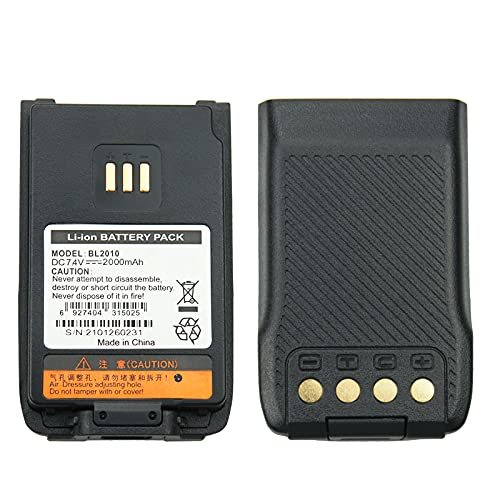 Hytera BL1504(Thin) BL2020(Thick) BL2010(Thick) Battery for Hytera PD500 PD530 PD560 PD600 PD680 TD500 TD560 Two Way Radios Replacement Battery