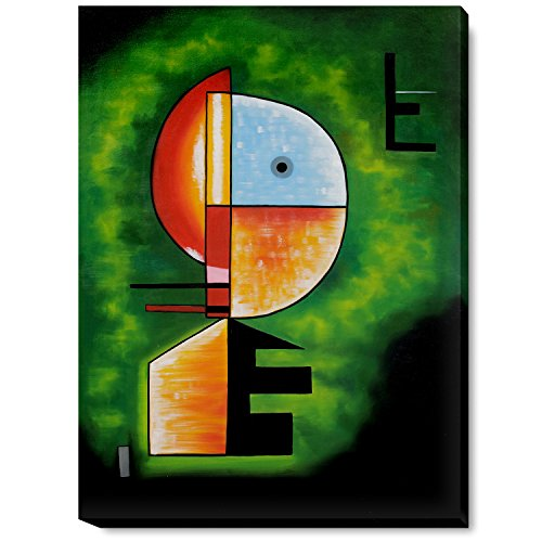 overstockArt La Pastiche Upward by Kandinsky with Gallery Wrap