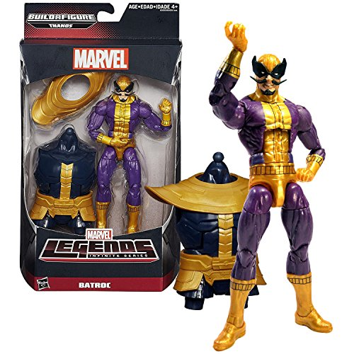 Marvel Hasbro Year 2015 Legends Infinite Thanos Series 6-1/2 Inch Tall Figure - BATROC with Thanos' Abdomen and Shoulder Armor