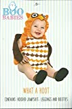 Boo Babies Halloween Costume What a Hoot Owl Sz 9-18 Months 3 Pieces Brown Orange