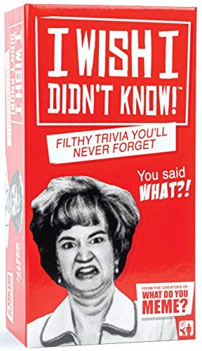 I Wish I Didn't Know! - Adult Party Game
