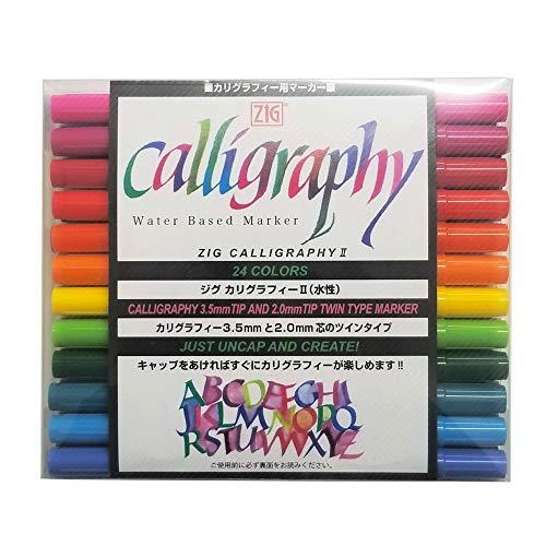 ZIG Calligraphy Pens (24)