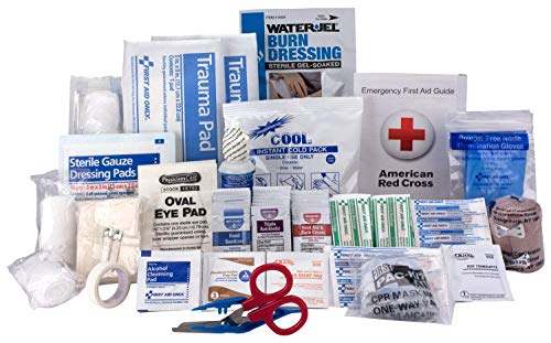 Xpress First Aid-59572 183 Piece Refill Pack, ANSI/OSHA Compliant