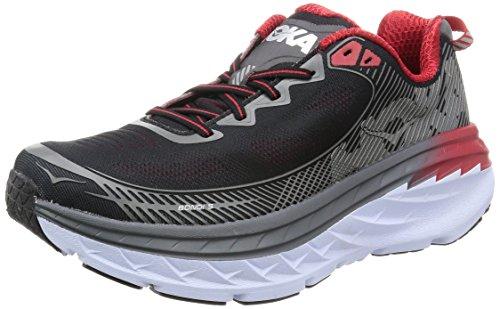 Hoka One One Mens Bondi 5 Running Shoe,  Grey - 10 EE - Wide