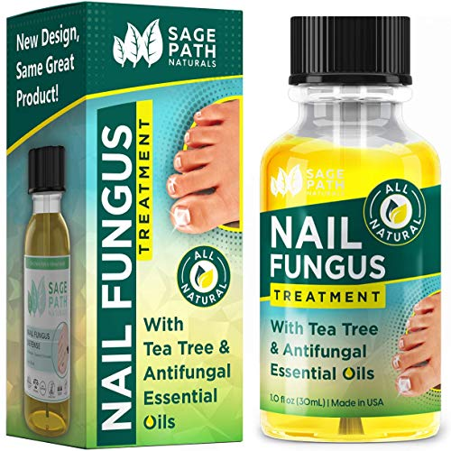 Toenail Fungus Treatment: Natural Tea Tree & Essential Oil Antifungal - Organic, Extra Strength Healing for Fungal Toe Nails - Made in USA