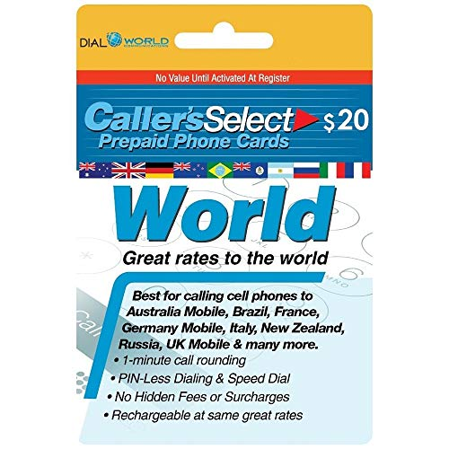 Callers Select World Prepaid Phone Card for International Long Distance Calling