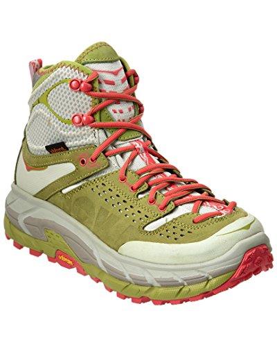 HOKA ONE ONE Tor Ultra Hi WP Running Shoe - Women's Fog Green/Olive 11