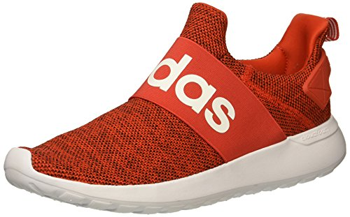 adidas Men's Lite Racer Adapt Running Shoe, core red/White/Black, 10.5 M US