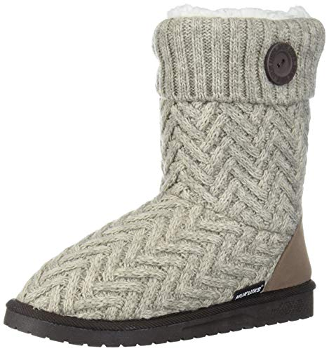 MUK LUKS Women's Janet Boots - Taupe