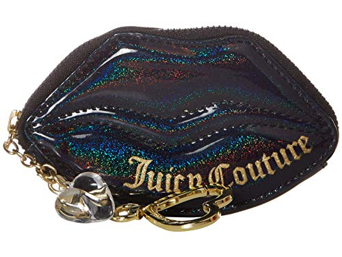 Juicy Couture Lip Coin Purse Black One Size