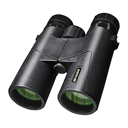 Maylehare 10x42 Binoculars for Adults&Kids Low Light Night Vision & Day,Sports Auto Focus FMC Multi Green Coated Wide Angle HD Lens BAK4 Roof Prism,IPX7 Waterproof&Fog Proof,Hunting and Bird Watching…