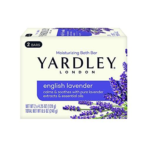 Yardley Bar Soap, English Lavender, 2 Count