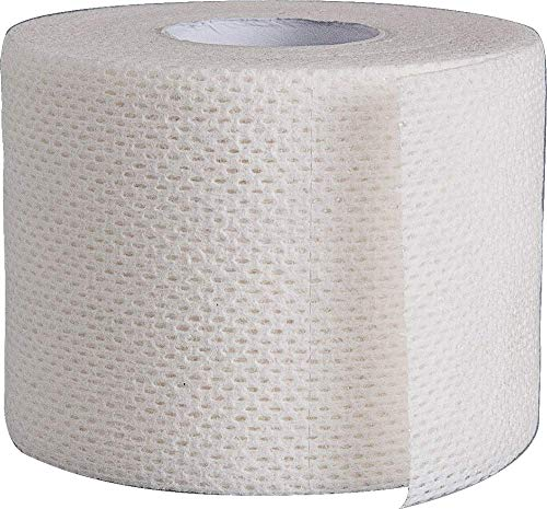 Surgical Tape Porous Skin Soft Fabric Cloth Adhesive Tape 2' x 10 Yards Two Rolls; by Areza Medical