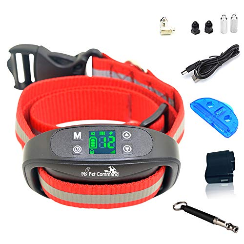 My Pet Command GPS Wireless Dog Fence System - Outdoor use only Safe Pet Containment System -GPS Boundary, Easy Setup, Portable, Rechargeable, Waterproof Collar, Bonus Training Whistle