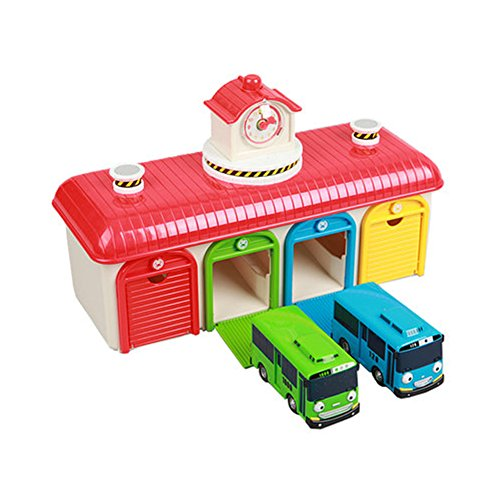 New The Little Bus Tayo Friends Toy car (Tayo Rogi Garage Set)