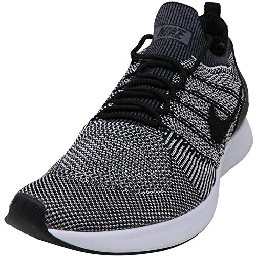 Nike Men's Air Zoom Mariah Flyknit Racer Black/Pure Platinum Ankle-High Mesh Running - 9M