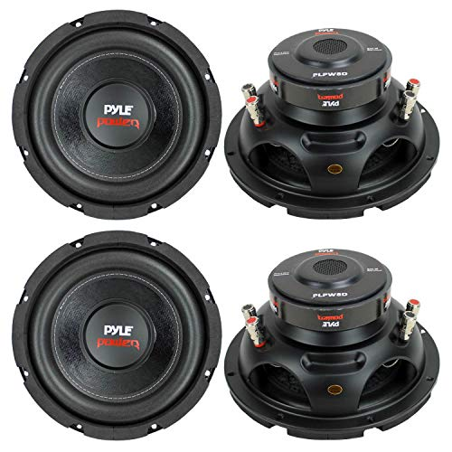 PYLE PLPW8D 8' 1600W Car Audio Subwoofers Subs Woofers Stereo DVC 4-Ohm