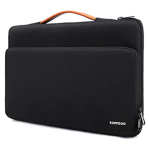 tomtoc Laptop Sleeve for 15 16-inch MacBook Pro A2141 A1398, Notebook Case for Dell XPS 15, Microsoft Surface Book 3/2, The New Razer Blade 15, ThinkPad X1 Extreme Gen 2, Accessory Bag