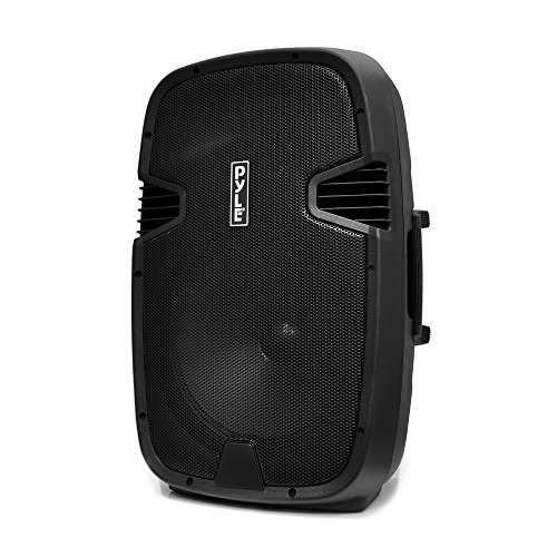 Pyle PA Loudspeaker Powered Active System Portable Bluetooth-12 Inch Bass Subwoofer with Built in USB for MP3 Amplifier-DJ Party Sound Stereo Amp Sub for Concert Audio or Band Music Pyle PPHP122BMU