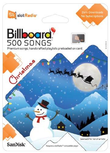 SanDisk slotRadio Christmas Card (500 Songs)