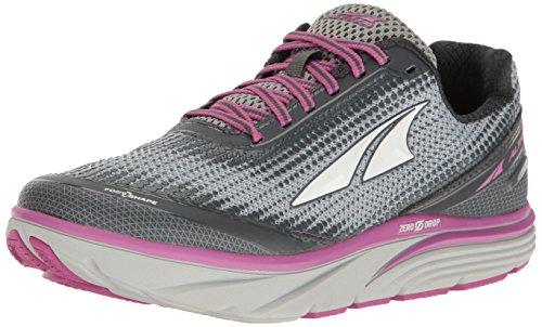 ALTRA Women's Torin 3 Running Shoe, Gray/Pink, 6.5 B US