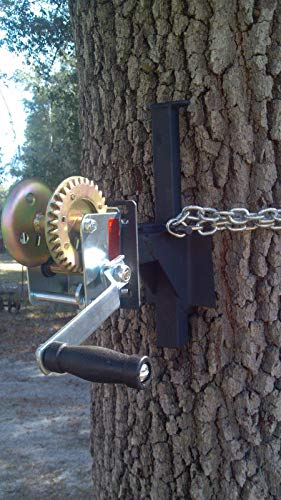 EZ-WINCH MOUNT for EZ-feeder hanger tree limb deer hog hunting game hoist boat -FREE SHIP (* mount only, no winch included)