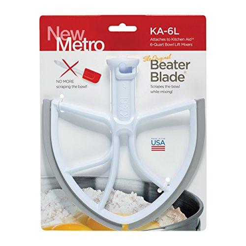 Original BeaterBlade for KitchenAid 6-Quart Bowl Lift Mixer, , White, Made in USA