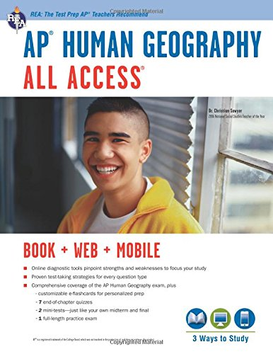 AP Human Geography All Access Book + Online + Mobile (Advanced Placement (AP) All Access)