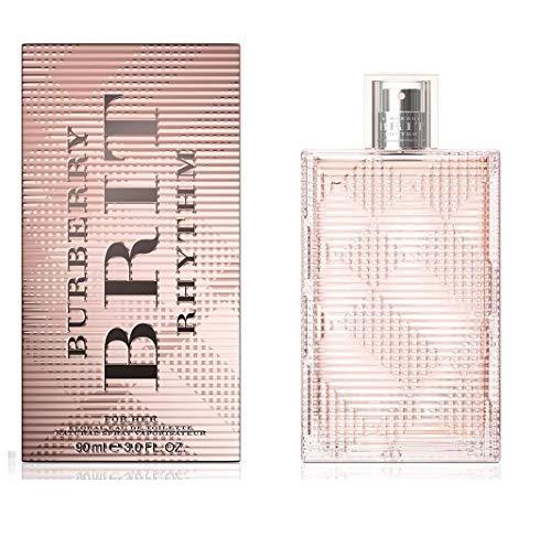 BURBERRY Brit Rhythm Floral Eau de Toilette for Her, 3 Fl Oz