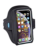 Tune Belt Model AB89 Armband for iPhone 11 Pro, SE (2020) X Xs 8 7 Samsung Galaxy S8 S9 S10e This size fits OtterBox Defender / Large Case - For Running & Working Out - Sweat-Resistant