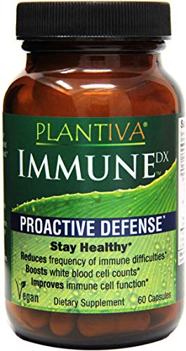 Plantiva ImmuneDx - (60 Capsules) Clinically Tested Natural Ingredients to Help Maintain Immune Health