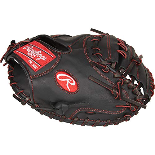 Rawlings R9YPTCM32B-3/0 Baseball Youth Pro Taper 32' CM, Right Hand Throw, Gloves