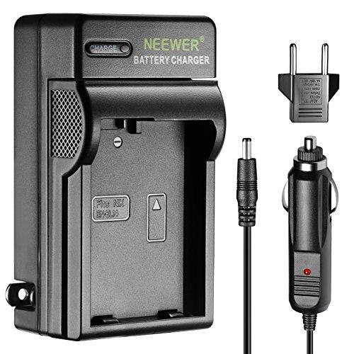 Neewer LED Battery Charger for Nikon EN-EL14 with US Plug EU Plug Adapter Car Charger Adapter, Fit Nikon D3200 D3100 D5200 D5100 D5300 DSLR Coolpix P7800 P7000 P7100 Digital Camera MB-D31 MB-D51 Grip