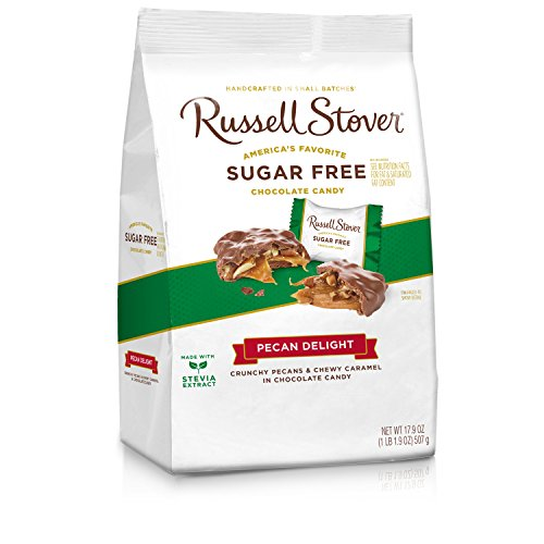 Russell Stover Sugar Free Pecan Delight Gusset Bag, 17.9 Ounce