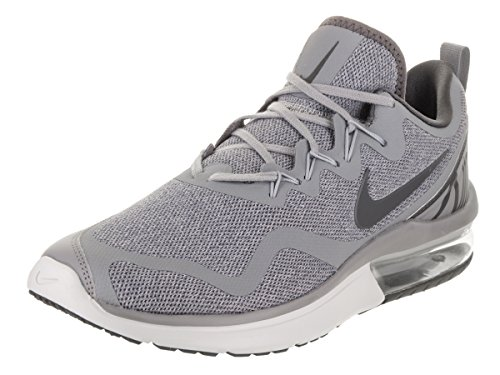 Nike Womens y Fabric Low Top Lace Up Running Sneaker, Grey, Size 8.5
