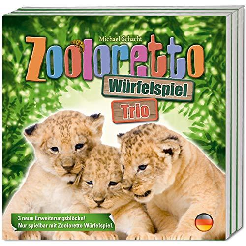 ABACUSSPIELE ABA06171 Zooloretto Würfelspiel Trio Board Game