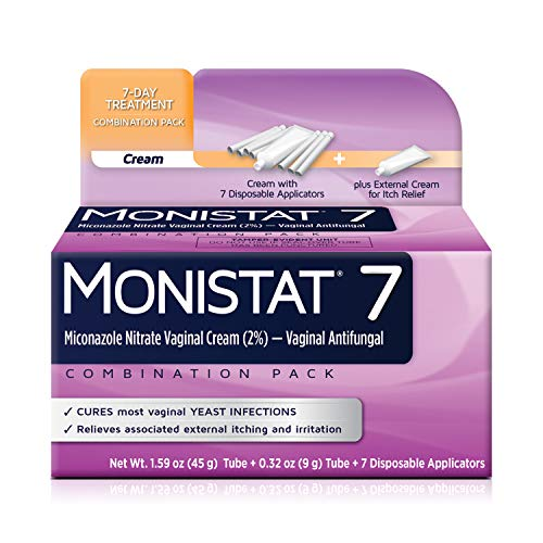 Monistat 7-Day Yeast Infection Treatment | Cream + External Itch Relief Cream