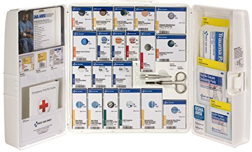 First Aid Only 90660 Large Plastic SmartCompliance Food Service First Aid Cabinet without Medications