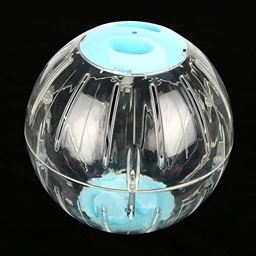 Liukouu Diameter 18.5cm Gerbil Exercise Ball, Hamster Exercise Ball, Transparent for pet Play(Blue)