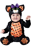 Mini Meow Infant Costume Black/Orange