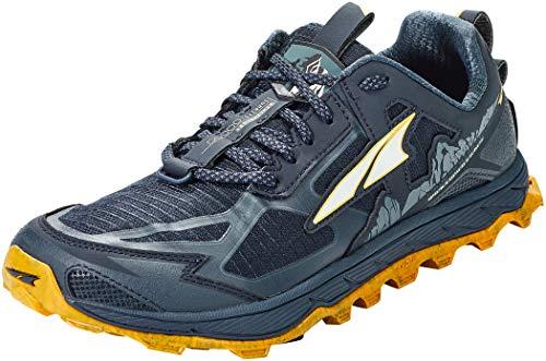 ALTRA Men's AL0A4PE5 Lone Peak 4.5 Trail Running Shoe, Carbon Blue - 10.5 M US