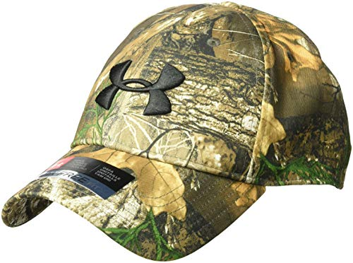 Under Armour Men's Camo 2.0 Hat , Realtree Edge (991)/Black , One Size Fits All