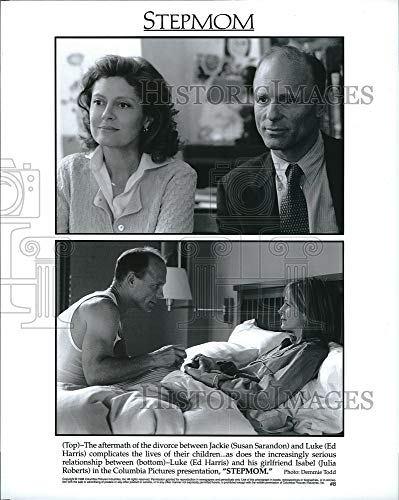 Historic Images - 1998 Press Photo Stepmom Susan Sarandon & Ed Harris, Julia Roberts