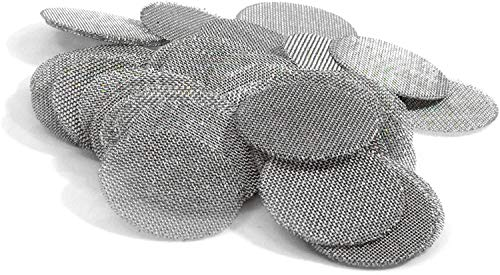 Made in The USA - 50 3/4 Inch (.75') Stainless Steel Mesh Pipe Screen Filters