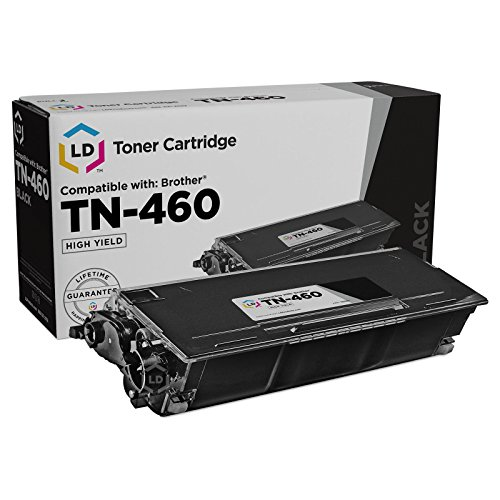 LD Compatible Toner Cartridge Replacement for Brother TN460 High Yield (Black)