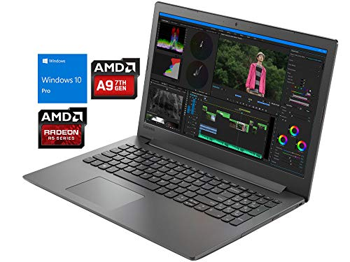 Lenovo IdeaPad 130 Notebook, 15.6' HD, AMD Dual-Core A9-9425 Upto 3.7GHz, 8GB RAM, 512GB SSD, DVD-RW, HDMI, Card Reader, Wi-Fi, Bluetooth, Windows 10 Pro