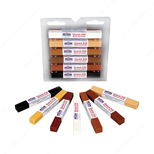 Quick-Fill Burn-In Stick - M3201202 - Finish Various colors, Details Quick Fill Assortment #3